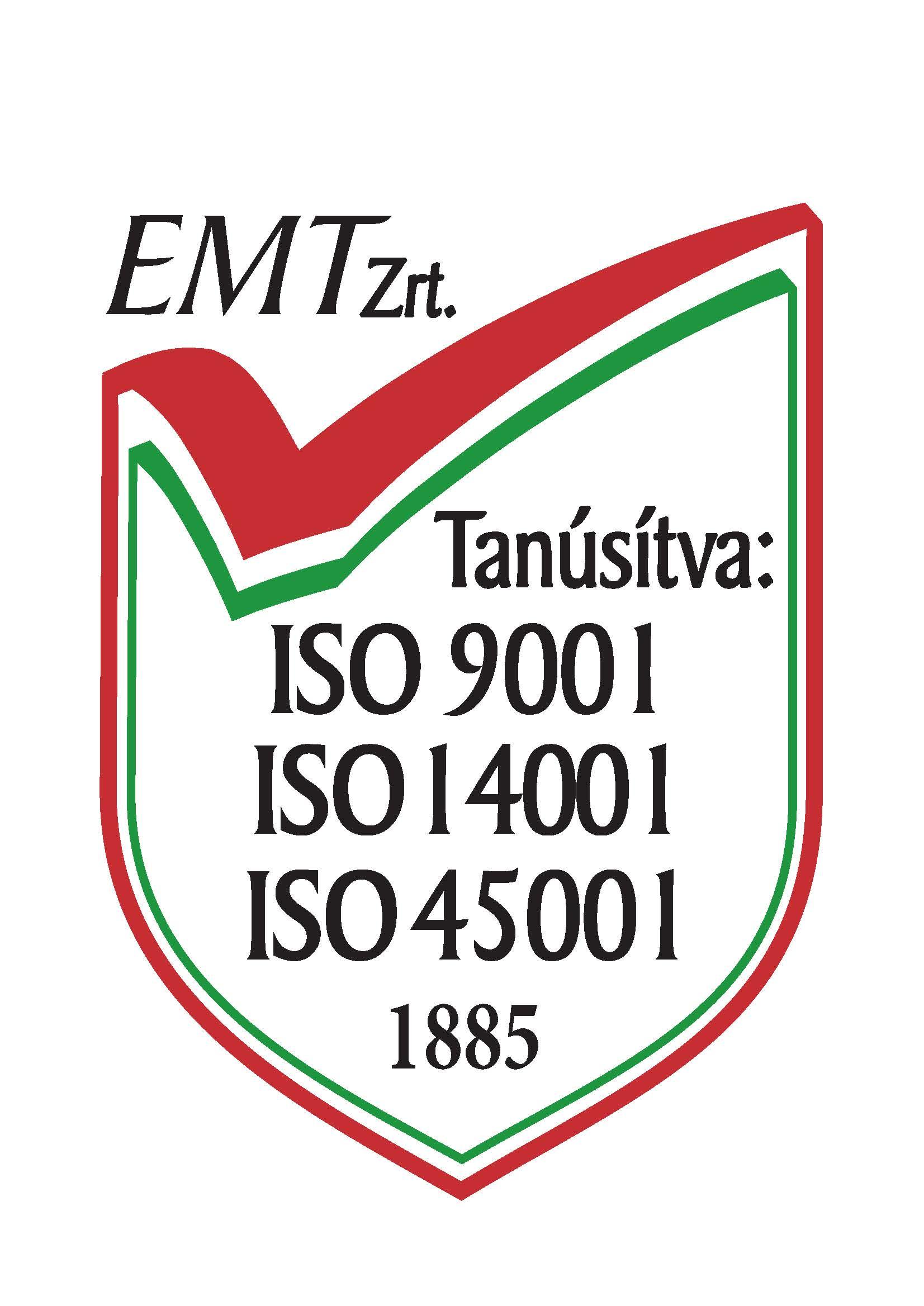 tanusitvanylogo_iso9001_14001_45001